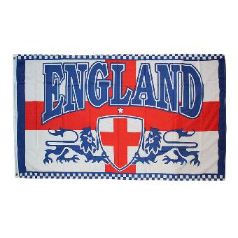 England (2 Lions) - Fahne / Flag