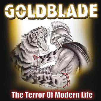 "Goldblade ""Terror of modern life"" CD"