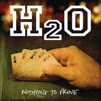 "H2O ""Nothing to prove"" LP (lim. orange)"