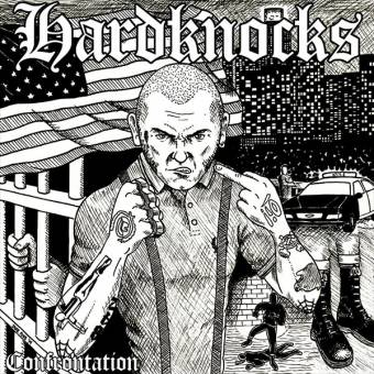 "Hardknocks ""Confrontation"" EP 7"" (lim. 100, black)"