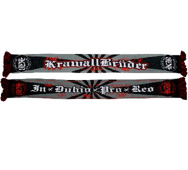 "Krawallbrüder ""IDPR"" - Schal/scarf"