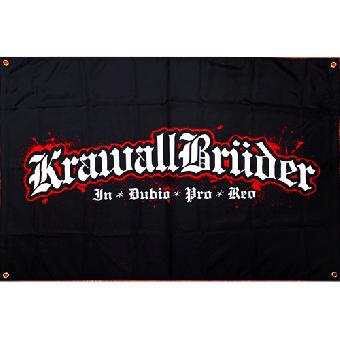 Krawallbrüder - IDPR - Fahne / flag