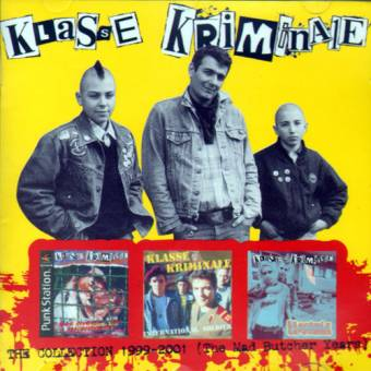 "Klasse Kriminale ""The Collection 1999-2001 - The Mad Butcher Years"" CD"