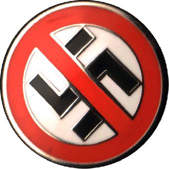 No Nazis - Kühlschrankmagnet / Magnet Pin (01)