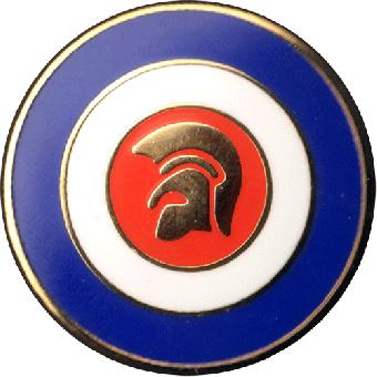 Trojan Target - Kühlschrankmagnet / Magnet Pin (02)