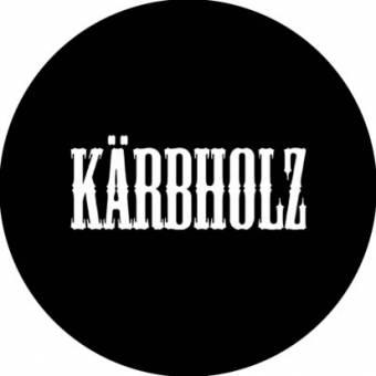 Kärbholz (3) - Schriftzug Button (2,5 cm) 103 NEU