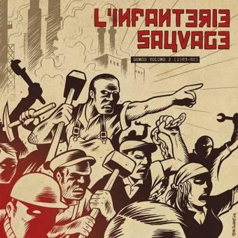 "L`Infanterie Sauvage ""Demos volume 2 (1983-82)"" LP"