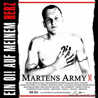 Martens Army - Ein Oi! auf meinem Herz CD