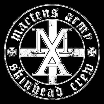 "Martens Army ""M.A.S.C."" EP 7"" (lim. 350, schwarz)"