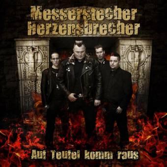 Messerstecher Herzensbrecher - Auf Teufel komm raus LP (lim. 250, colored vinyl)