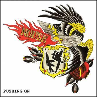 "Noi!se (Noise) ""pushing on"" LP (3rd press, lim. 100, white)"