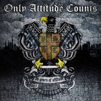 """Only Attitude Counts """"20 Years Of Attitude"""" DoCD (DigiPac)"""