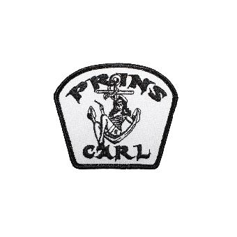 """Prins Carl """"Anchor Girl"""" Aufnäher / patch (gestickt)"""