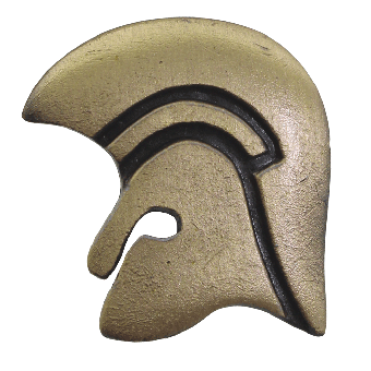 "Trojan Records ""Logo Gold"" 3D Hartemaille-Pin (101-G)"