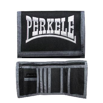 "Geldbörse / Wallet ""Perkele"" (schwarz/grau)"