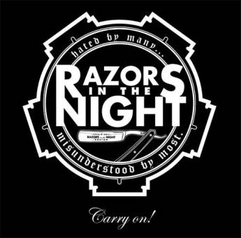 Razors in the Night - Carry on! CD