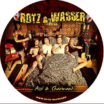 """Rotz & Wasser """"Assi und Charmant"""" sticker"""