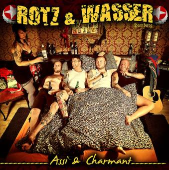 "Rotz & Wasser ""Assi und Charmant"" LP (colored: orange/braune Sprenkel, Downloadcoad)"