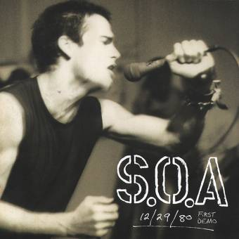 "State of Alert (S.O.A.) ""First Demo 12/29/80"" EP 7"" (lim. red)"