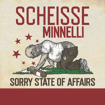 """Scheisse Minelli """"Sorry state of affairs"""" LP (black)"""