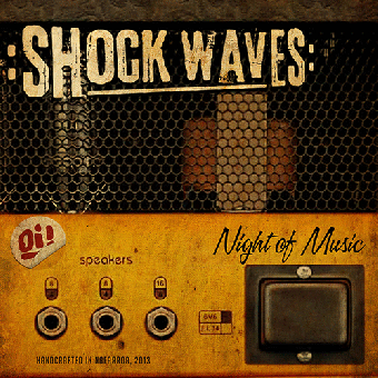 "Shock Waves ""Night of the music"" CD"
