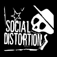 Social Distortion (Star) - Stoffaufnaeher (Druck)