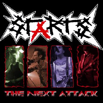 Starts - The next attack CD (DigiPac)