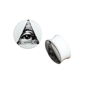 Illuminati Plug Acryl (white) (reduziert)