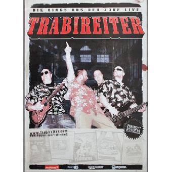 Trabireiter - Poster (gefaltet)