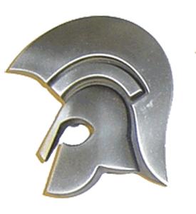 Trojan (Kopf)  (Silber/Silver) - Gürtelschnalle / Buckle