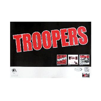 """Troopers """"Logo"""" Poster (gefaltet)"""