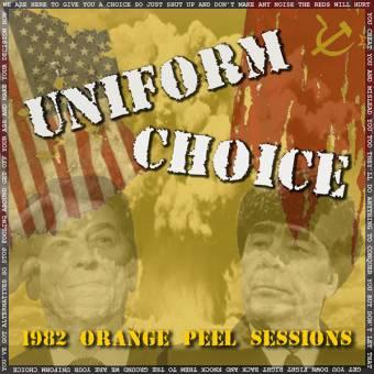 "Uniform Choice ""1982 Orange Peel Session"" EP 7"" (2nd press, lim 1000, blue)"