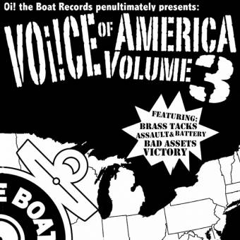 "V/A Voice of America Vol. three EP 7"" (+ download) (Victory, Bad Assets)"