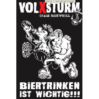 "Volxsturm ""Biertrinken"" Fahne"
