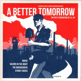 "V/A A Better Tomorrow (Noi!se, Sydney Ducks,...) EP 7"" (lim. red)"