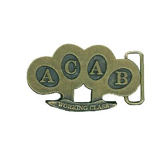 A.C.A.B. Working Class - Gürtelschnalle / buckle