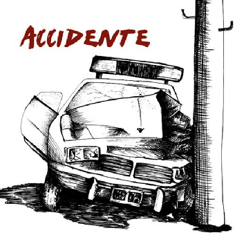 "Accidente ""same"" LP (lim. 500, red)"