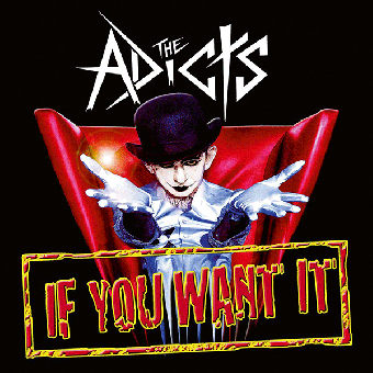 "Adicts, The ""If you want it"" EP 7"" (black, lim. 200)"