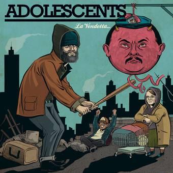 """Adolescents """"La Vendetta"""" CD"""