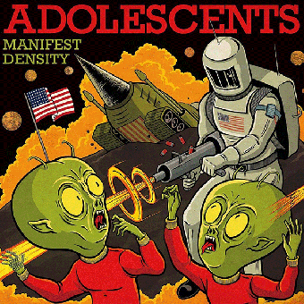 "Adolescents ""Manifest Density"" LP (lim. 500, red) + MP3"