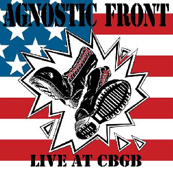 "Agnostic Front ""Live at the CBGB"" (1989) LP (lim. 900, black/white) + MP3"