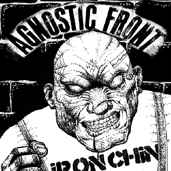 "Agnostic Front ""Iron chin"" EP 7"" (lim. 400, black)"