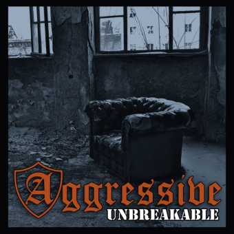 "Aggressive ""Unbreakable"" LP Gatefold  (lim. 100, white black marbeled)"