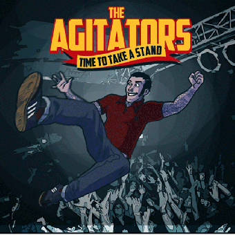 "Agitators, The ""Time to take a stand"" LP (lim. 200, splatter)"