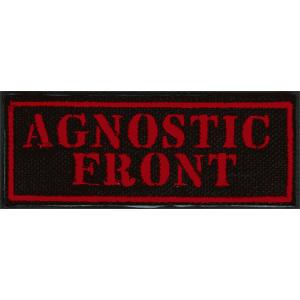 Agnostic Front - Aufnäher (gestickt)