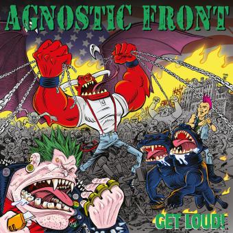"""Agnostic Front """"Get loud!"""" LP (black)"""