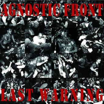 "Agnostic Front ""Last warning"" LP (lim. 300, black)"