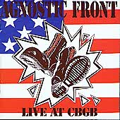 "Agnostic Front ""Live at CBGB (1989)"" CD"