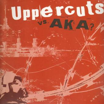 "split AKA? vs. Uppercuts ""same"" LP (lim. 200 dark marble)"