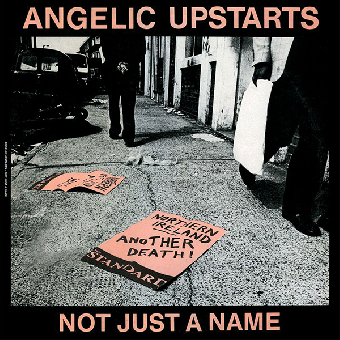 "Angelic Upstarts ""Not just a name"" EP 7"" (black)"
